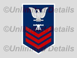 Enlisted Rank & Rating Decals