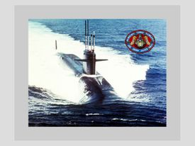 SSBN / SSGN Canvas Art Prints