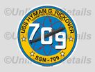SSN-709 Decal