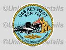 SSN-722 Decal