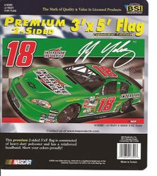 18 JJ Yeley Double Faced Flag 3x5