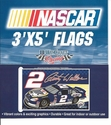 2 Rusty Wallace Flag 3x5