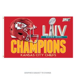 2020 Super Bowl Champions Flag 3x5