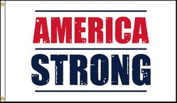 America Strong 3x5 Flag