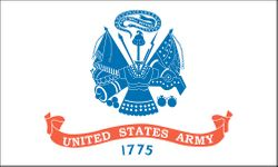 Army Nylon Flag 2x3