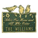 Birds On a Branch Blessing Wall Plaque