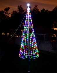 Christmas Trees & Christmas Tree Flagpole Kits