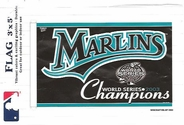 FL Marlins 2003 WS Champs Flag 3x5