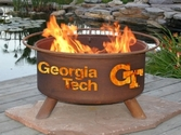 Georgia Tech Outdoor Fire Pit