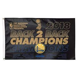 Golden State Warriors 2018 NBA Championship Flag 3x5