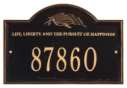 Life And Liberty Address Plaque