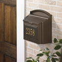 Locking Wall Mailbox-Must be ordered by 12/1/2020 for Christmas