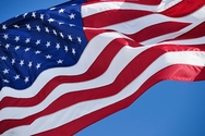 Nylon American Flags -