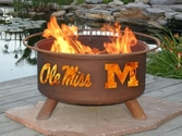 Ole Miss Outdoor Fire Pit