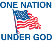One Nation Under God Flag 3x5