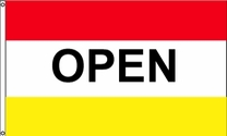 Open Flag (Red/Yellow)