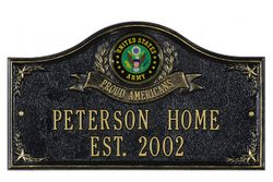 Personalized Address Plaques