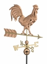 Smithsonian Rooster Copper Weathervane