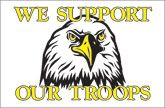 Support Our Troops Flag