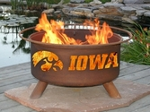 University of Iowa Outdoor Fire Pit