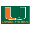 University of Miami Florida Flag 3x5