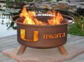 University of Miami Outdoor Fire pit