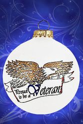 Veterans Christmas Ornament