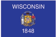 Wisconsin State Flag 2x3