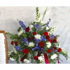 Military Honors for Behind the Casket