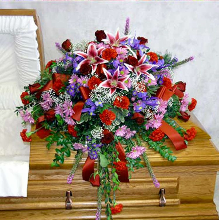 Regal Splendor Casket Spray