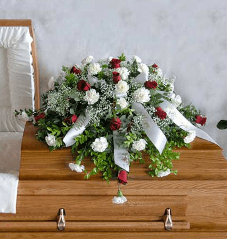 Traditional Elegance Casket Spray