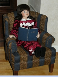 NEW Rare Editions Burgundy Velvet Pants Set with Ivory Bows (HOC0923)  and NEW Black Velveteen Mary Jane Style Baby Shoe with Satin Bow (BB0958)