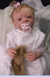 NEW Hearts Delight Early Victorian Style Christening Gown with Lavish Lace (CR0833)