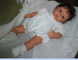 <strong>Baby Doll Ellie in Classic Smocked Baby Bubble</strong>