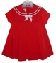 "<img src=""https://p11.secure.hostingprod.com/@grammies-attic.com/ssl/images/blue-sold-1.gif""> Bonnie Baby Red Sailor Dress For Baby and Toddler Girls"