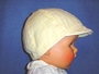 "<img src=""https://p11.secure.hostingprod.com/@grammies-attic.com/ssl/images/blue-sold-1.gif""> Boy's Vintage 1950s Pale Yellow Corded Cotton Hat"