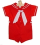 "<img src=""https://p11.secure.hostingprod.com/@grammies-attic.com/ssl/images/blue-sold-1.gif""> Bryan Classic Red Sailor Button On Shorts Set for Baby and Toddler Boys"