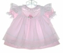 """<img src=""""https://p11.secure.hostingprod.com/@grammies-attic.com/ssl/images/blue-sold-1.gif""""> Bryan Pink Dress and White Eyelet Trimmed Pinafore"""
