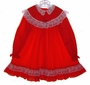 "<img src=""https://p11.secure.hostingprod.com/@grammies-attic.com/ssl/images/blue-sold-1.gif""> Bryan Red Little Girls Dress with White Lace Trim"