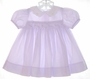 """<img src=""""https://p11.secure.hostingprod.com/@grammies-attic.com/ssl/images/blue-sold-1.gif""""> Carter's Lilac Smocked Dress with Rosebud Embroidery"""