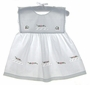 """<img src=""""https://p11.secure.hostingprod.com/@grammies-attic.com/ssl/images/blue-sold-1.gif""""> Custom Made White Toddler Dress and Pantaloons with Hand Embroidery"""
