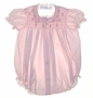 """<img src=""""https://p11.secure.hostingprod.com/@grammies-attic.com/ssl/images/blue-sold-1.gif""""> Feltman Brothers Pink Smocked Bubble with Pink Embroidery"""
