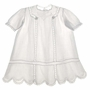 "<img src=""https://p11.secure.hostingprod.com/@grammies-attic.com/ssl/images/blue-sold-1.gif""> Heirloom 1920s White Baby Dress with Lace Insertion and Embroidery"