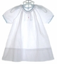"<img src=""https://p11.secure.hostingprod.com/@grammies-attic.com/ssl/images/blue-sold-1.gif""> Heirloom 1920s White Bishop Gown with Pink and Blue Embroidery"