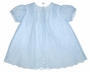 "<img src=""https://p11.secure.hostingprod.com/@grammies-attic.com/ssl/images/blue-sold-1.gif""> Heirloom 1930s Blue Batiste Pintucked Baby Dress with White Openwork Embroidery"