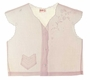 "<img src=""https://p11.secure.hostingprod.com/@grammies-attic.com/ssl/images/blue-sold-1.gif""> Heirloom 1930s Pale Pink Diaper Shirt with Delicate Embroidery and Angel Sleeves"