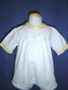 "<img src=""https://p11.secure.hostingprod.com/@grammies-attic.com/ssl/images/blue-sold-1.gif""> Heirloom 1930s White Romper with Yellow Embroidery"