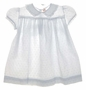 "<img src=""https://p11.secure.hostingprod.com/@grammies-attic.com/ssl/images/blue-sold-1.gif""> Heirloom 1940s C.I. Castro White Eyelet Baby Dress with Fagoting and Lace Trim"