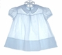 "<img src=""https://p11.secure.hostingprod.com/@grammies-attic.com/ssl/images/blue-sold-1.gif""> Heirloom 1950s Cherubs Pastel Blue Embroidered Batiste Dress"