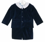 NEW Anavini Navy Velvet Eton Suit